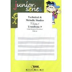Mortimer, John Glenesk: Technical and Melodic Studies vol.5 : for trombone