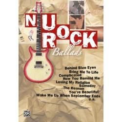 Nu Rock Ballads : für Gitarre Gesang/Gitarre/Tabulatur