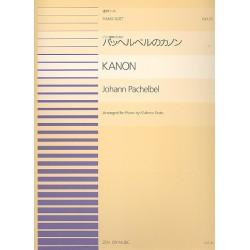 Pachelbel, Johann: Kanon : für Klavier zu 4 Händen Spielpartitur