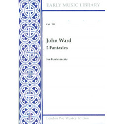 Ward, John: 2 Fantasies : for 4 instruments 4 scores