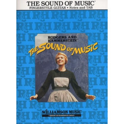 Rodgers, Richard: The Sound of Music : for guitar songbook vocal/guitar/tab