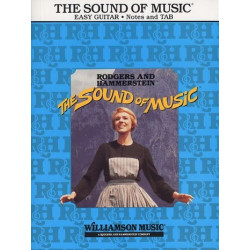 Rodgers, Richard: The Sound of Music (+CD) : for easy guitar songbook vocal/guitar/tab