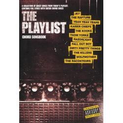 The Playlist: chord songbook lyrics/chord symbols/guitar chord boxes