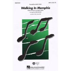 Cohn, Mark: Walking in Memphis : for mixed chorus (SAB) and piano, score