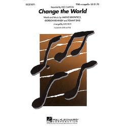 Kirkpatrick, Wayne: Change the World : for male chorus (TTBB) a cappella