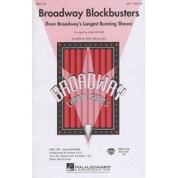 Broadway Blockbusters : for female chorus and piano