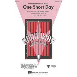 Schwartz, Stephen: One short Day : for female chorus and piano