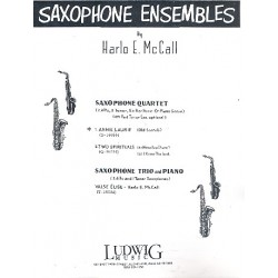 McCall, Harlo E.: Annie Laurie : for saxophone quartet and piano parts