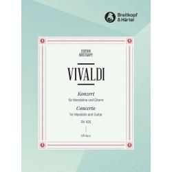 Konzert C-Dur : für Mandoline, Gitarre und Bc