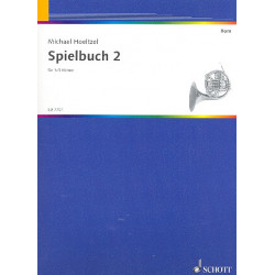 H├Âltzel, Michael: Spielbuch Band 2 : f├╝r 1-3 H├Ârner