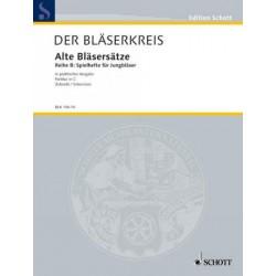 ALTE BLAESERSAETZE SCHMITT, ED PARTITUR IN C