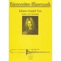 Fux, Johann Joseph: Suiten und Tanzsätze : Instrumentalsätze für 4 Stimmen Partitur