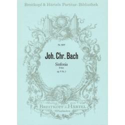 Bach, Johann Christian: SINFONIA B-DUR OP.9,3 : FUER ORCHESTER, PARTITUR GMUER, HANSPETER, ED
