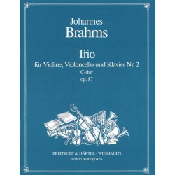 Brahms, Johannes: Klaviertrio C-Dur op.87,2 : Stimmen