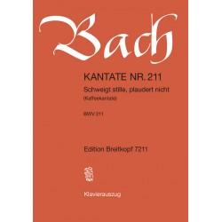 Bach, Johann Sebastian: Schweigt stille plaudert nicht Kantate Nr.211 BWV211 Klavierauszug (dt/fr)
