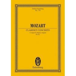 Mozart, Wolfgang Amadeus: Konzert A-Dur KV622 : f├╝r Klarinette und Orchester Studienpartitur