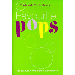 Favourite Pops : for SSA choir with piano accompaniment Score