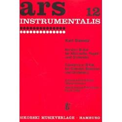 Stamitz, Karl: Konzert B-Dur für Klarinette, Fagott und Orchester für Klarinette, Fagott und Klavier