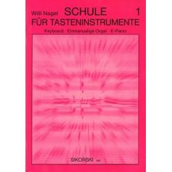 Nagel, Willi: Schule für Tasteninstrumente Band 1