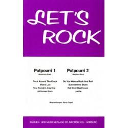 Let's rock : 2 Potpourris für Combo