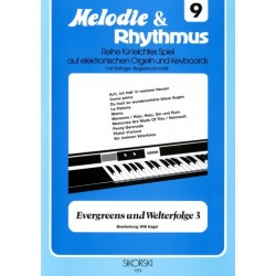 Evergreens und Welterfolge Band 3 : f├╝r E-Orgel / Keyboard
