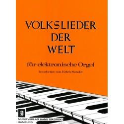 Volkslieder der Welt : für E-Orgel