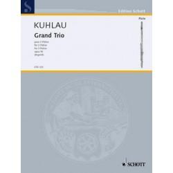 Kuhlau, Friedrich Daniel Rudolph: Grand Trio op.90 : für 3 Flöten