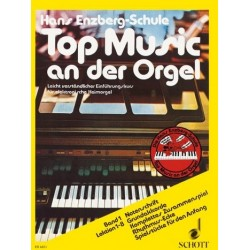 Enzberg, Hans: Top Music an der Orgel Band 1