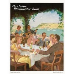 Das frohe Rheinliederbuch Band 1: für Klavier (mit Text)