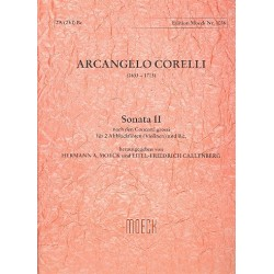 Corelli, Arcangelo: Sonate Nr.2 nach den Concerti grossi : f├╝r 2 Altblockfl├Âten und Klavier