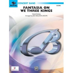Fantasia on We Three Kings : for concert band score and parts