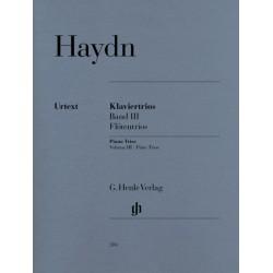 Haydn, Franz Joseph: Trios Band 3 : Flötentrios für Flöte (Violine), Violoncello und Klavier