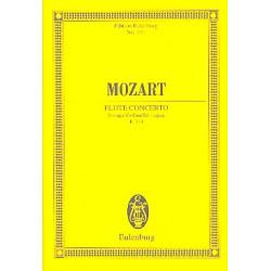 Mozart, Wolfgang Amadeus: Konzert D-Dur KV314 : für Flöte und Orchester Studienpartitur