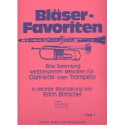 Bläser-Favoriten Band 1 Melodie-Stimme in B