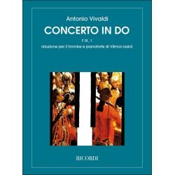 Vivaldi, Antonio: Konzert C-Dur RV537 für 2 Trompeten und Orchester für 2 Trompeten und Klavier