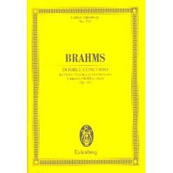 Brahms, Johannes: Konzert a-Moll op.102 : für Violine, Violoncello und Orchester Studienpartitur