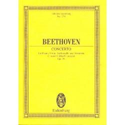 Beethoven, Ludwig van: Konzert C-Dur op.56 : für Violine, Violoncello, Klavier und Orchester, Studienpartitur