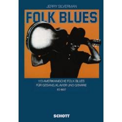 Folk Blues: songbook Klavier/Gesang/Gitarre
