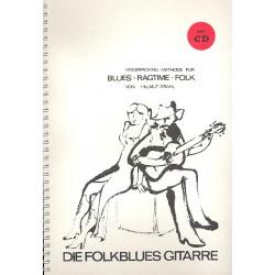 Grahl, Helmut: Die Folkblues-Gitarre (+CD) Fingerpicking-Methode f├╝r Blues - Ragtime - Folk