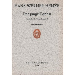 Henze, Hans Werner: Der junge Törless : Fantasia für 3 Violinen, 2 Violen und Violoncello Studienpartitur
