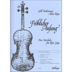 Biedermann, Gretl: Fröhlicher Anfang Band 4 Teil b : Kammermusik für 3 Violinen leicht bis mittelschwer, Partitur