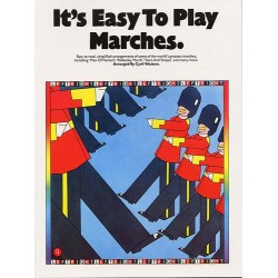 Watters, Cyril: It's easy to play Marches: for piano