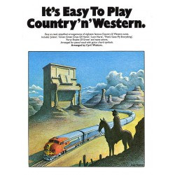 Watters, Cyril: It's easy to play Country'n'Western : for piano