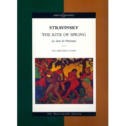 Strawinsky, Igor: The Rite of Spring : for orchestra score