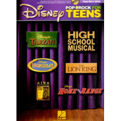 Disney Pop and Rock for Teens (+CD) : for male voice and piano