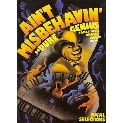 Waller, Thomas Fats: Ain't Misbehavin': Pure Genius takes your Breath away songbook for piano/voice/guitar
