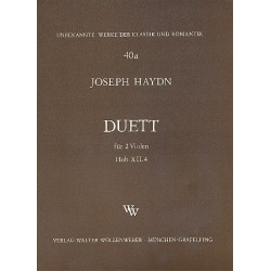 Haydn, Franz Joseph: Duett Hob.XII:4 : für 2 Violen Stimmen