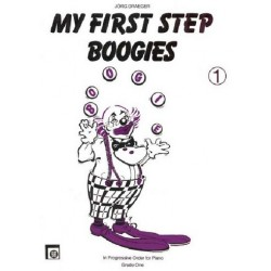 Draeger, Jörg: My first Step Boogies 1 : for piano