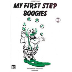 Draeger, Jörg: My first Step Boogies 3 : in progressive order for piano grade three