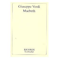 Verdi, Giuseppe: Macbeth : Libretto (dt)